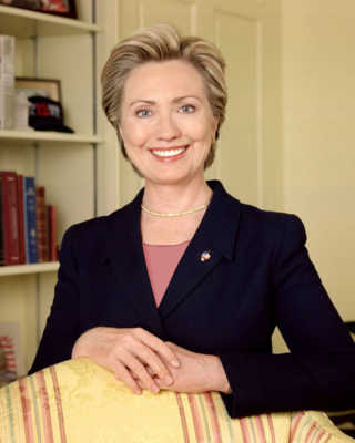 Hillary Rodham Clinton most influence and inspirational women