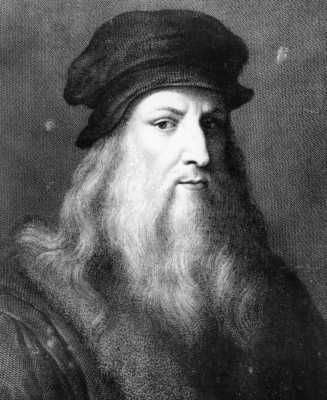Leonardo Da Vinci famous people of all time
