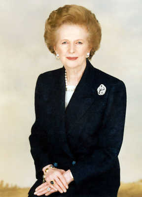 Margaret Thatcher most influential and inspirational women in the world