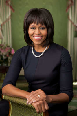 Michelle Obama most influence and inspirational women in the world