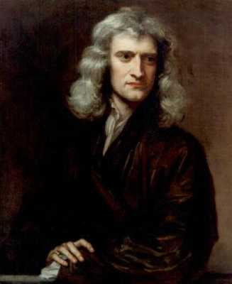 Sir Isaac Newton famous people of all time