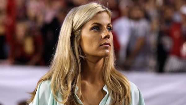 Samantha Ponder hottest female sports caster
