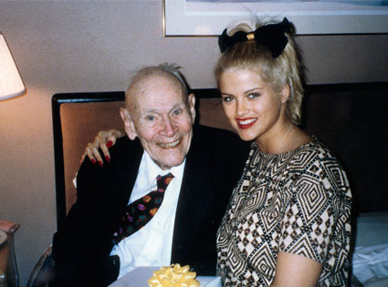 Anna Nicole Smith, wife of J. Howard Marshall II Famous Women Who Married Much Older Men