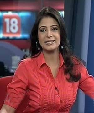 Ayesha Faridi Beautiful Female TV News Anchors In India