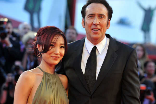 Nicolas Cage and Alice Kim celebrities who married their fans