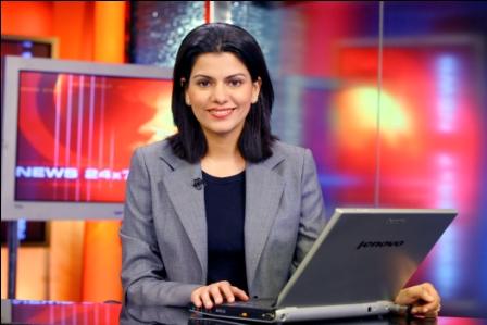 Nidhi Razdan Beautiful Female TV News Anchors In India