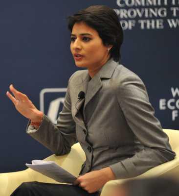Shaili Chopra Beautiful Female TV News Anchors In India