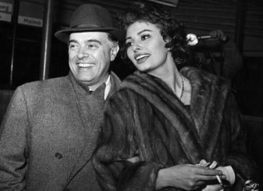 Sophia Loren, Wife Of Carlo Ponti