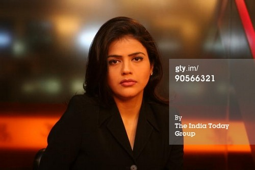 Sweta Singh Beautiful Female TV News Anchors In India