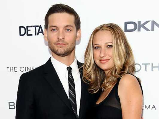 Tobey Maguire and Jennifer Meyer celebrities who married their fans