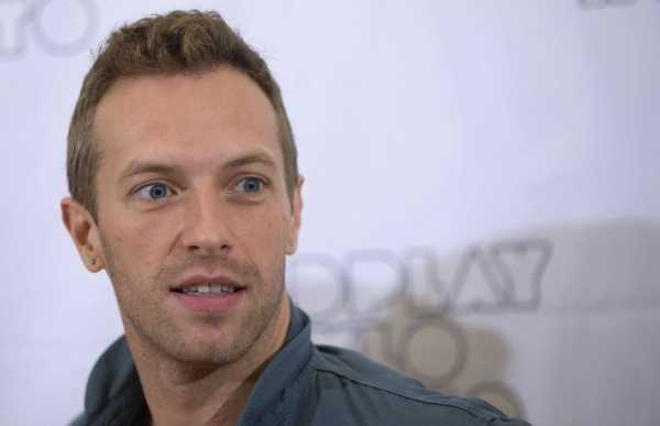 Chris Martin World's Hottest Men of 2016