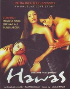 Hawas adult Bollywood movies