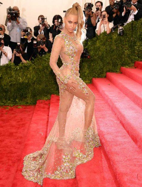 Beyonce Celebrities who don't wear underwear