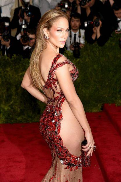 Jennifer Lopez Celebrities who don't wear underwear