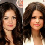 Selena Gomez and Lucy Hale celebrities who are incredibly similar