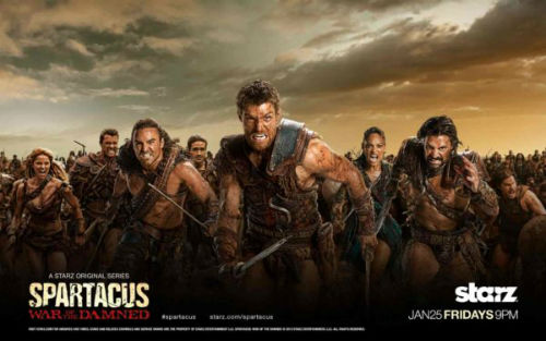 Spartacus War of the Damned best Adult tv series