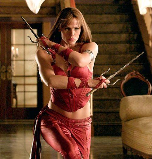 Elektra Sexiest Outfits of Female Superheroes