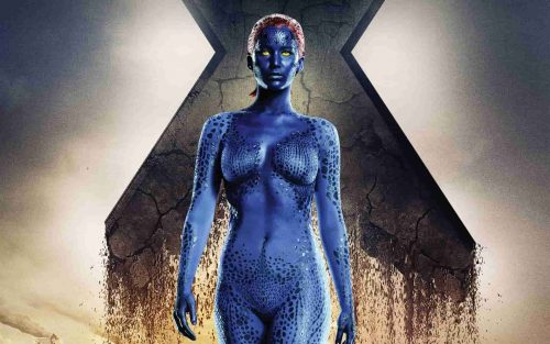 Mystique Sexiest Outfits of Female Superheroes