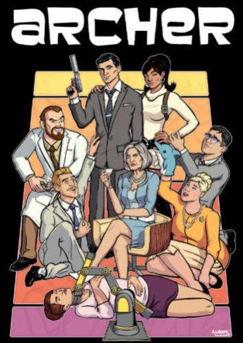 Archer best Adult cartoons