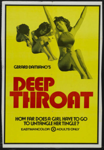 Deep Throat adult movies of all time