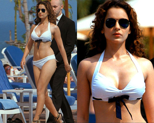 Kangana Ranaut bollywood actresses in bikini