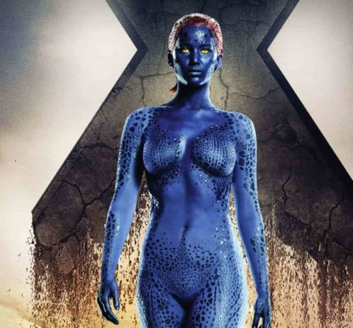 Mystique Sexiest Female Super Heroes