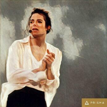 Prisma filters on Michael Jackson Breakfast