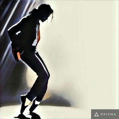 Prisma filters on Michael Jackson Gothic