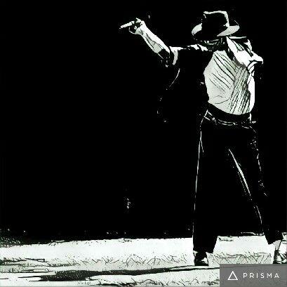 Prisma filters on Michael Jackson Hesienberg 3