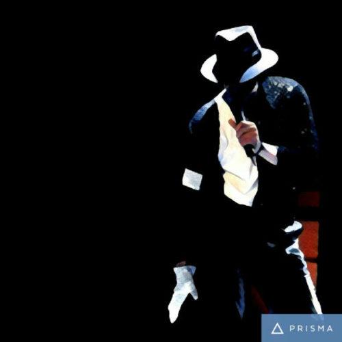 Prisma filters on Michael Jackson Udnie