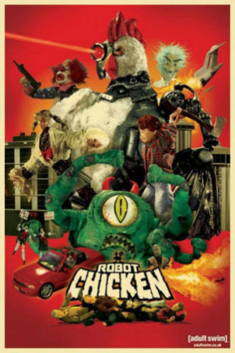 Robot chicken best Adult cartoons