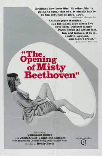 The Opening of Misty Beethoven adult movies of all time