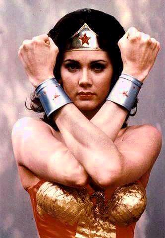 Wonder Woman in the T.V. Series Sexiest Female Super Heroes