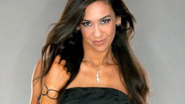 April Jeanette AJ Mendez Brooks Most beautiful divas from WWE