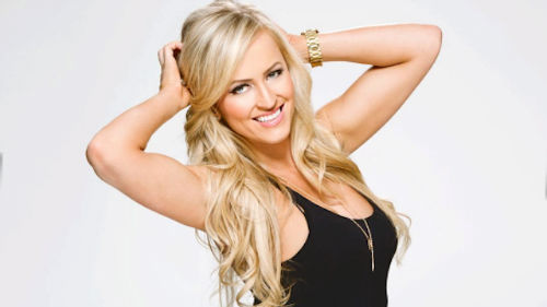 Danielle Moinet Most beautiful divas from WWE