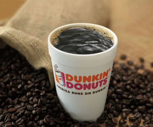 Dunkin' Donuts best selling coffee brands