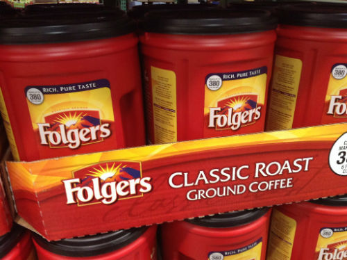 Folger Coffee Co best selling coffee brands