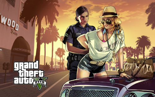 Grand Theft Auto V (2013) best video games of all time