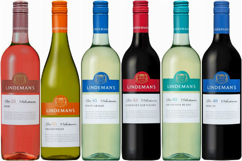 Lindeman's best selling brands in the world