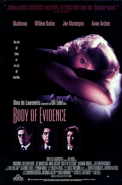 Body of Evidence sex hollywood movies