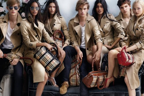 Burberry Best Selling Clothing Brands