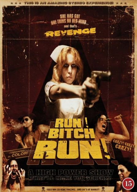 Run! Bitch Run! Rape hollywood movies