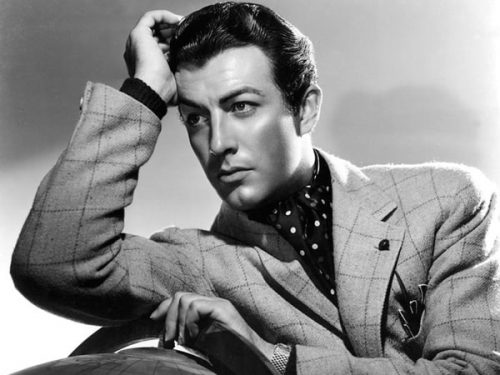 Robert Taylor Most Beautiful Guys of All Time