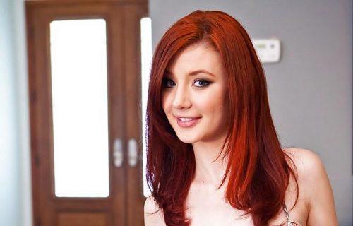 Sasha Pain Beautiful Red Head porn stars