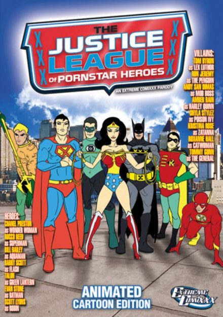 The Justice League Of Pornstar Heroes An Extreme Comixxx Animated Parody Best Animated Porn Movies