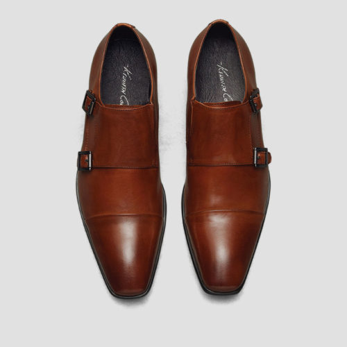 2017 Kenneth Cole LEATHER MONK STRAP DRESS SHOE