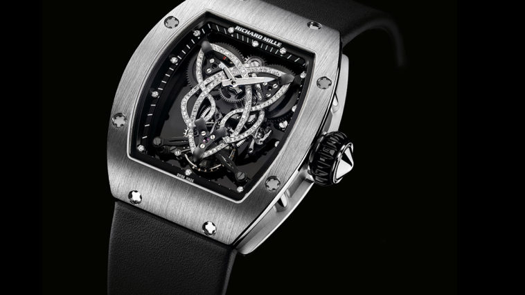 Richard Mille Caliber RM 019 Celtic Knot Tourbillon Watch Most Expensive Watches for Women