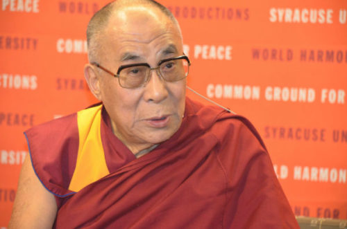 Dalai Lama most famous person of 21st century