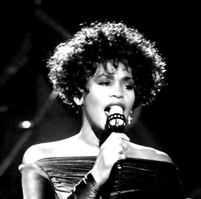 Whitney Houston artists inspired by Michael Jackson