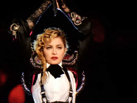 Madonna inspired by Michael Jackson
